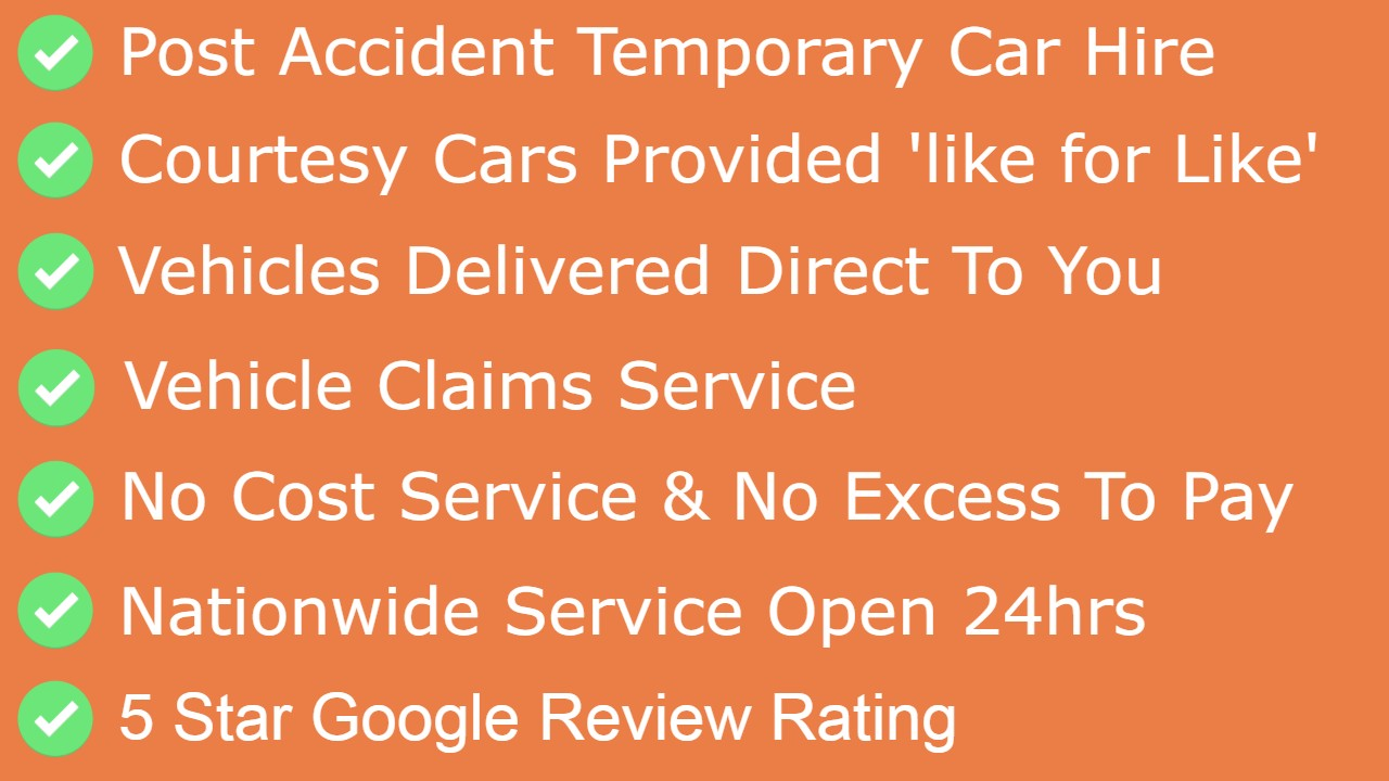Car hire after accident
