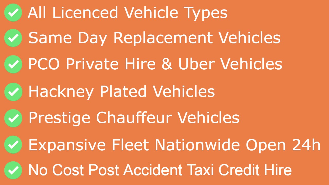 Credit Hire Taxi Replacement